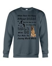 German Shepherd Journey Crewneck Sweatshirt thumbnail