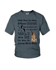 German Shepherd Journey Youth T-Shirt thumbnail