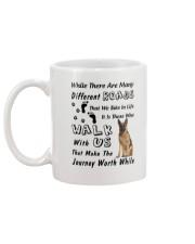 German Shepherd Journey Mug back