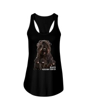 Black Russian Terrier Awesome Family 0501 Ladies Flowy Tank thumbnail