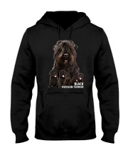 Black Russian Terrier Awesome Family 0501 Hooded Sweatshirt thumbnail