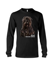 Black Russian Terrier Awesome Family 0501 Long Sleeve Tee thumbnail