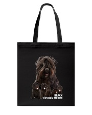 Black Russian Terrier Awesome Family 0501 Tote Bag thumbnail