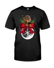Dachshund Snowball 0210 Classic T-Shirt thumbnail