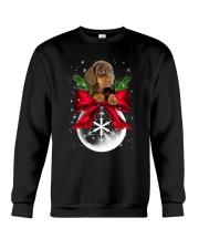 Dachshund Snowball 0210 Crewneck Sweatshirt tile
