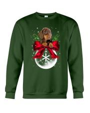 Dachshund Snowball 0210 Crewneck Sweatshirt front