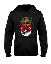 Dachshund Snowball 0210 Hooded Sweatshirt thumbnail