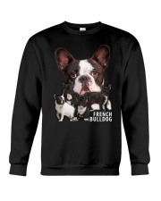 French Bulldog Awesome Family 0701 Crewneck Sweatshirt thumbnail