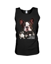 French Bulldog Awesome Family 0701 Unisex Tank thumbnail