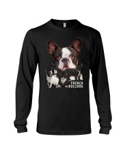 French Bulldog Awesome Family 0701 Long Sleeve Tee thumbnail