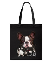 French Bulldog Awesome Family 0701 Tote Bag thumbnail