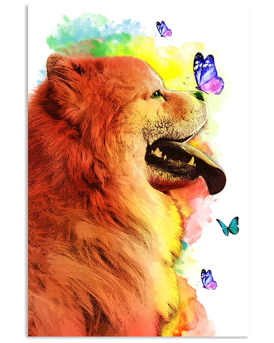 Chow-Chow Colorful Poster 0102  11x17 Poster