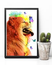 Chow-Chow Colorful Poster 0102  11x17 Poster lifestyle-poster-8