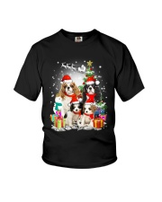 Cavalier King Charles Spaniel Christmas Youth T-Shirt tile