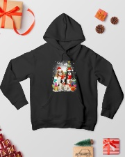Cavalier King Charles Spaniel Christmas Hooded Sweatshirt lifestyle-holiday-hoodie-front-2