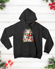 Cavalier King Charles Spaniel Christmas Hooded Sweatshirt lifestyle-holiday-hoodie-front-3
