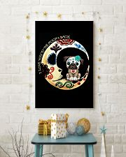Pug Love Moon 16x24 Poster lifestyle-holiday-poster-3