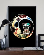 Pug Love Moon 16x24 Poster lifestyle-poster-2
