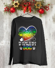 The Paw Of My Dog 1909 Long Sleeve Tee lifestyle-holiday-longsleeves-front-2