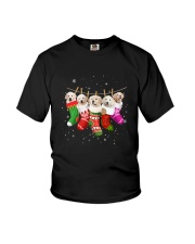 Golden Retriever Puppies Socks 3110 Youth T-Shirt thumbnail