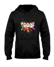 Golden Retriever Puppies Socks 3110 Hooded Sweatshirt thumbnail