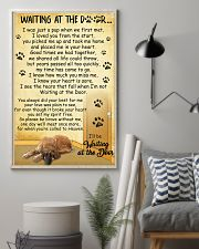 Afghan Hound Waiting at The Door 11x17 Poster lifestyle-poster-1