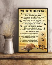 Afghan Hound Waiting at The Door 11x17 Poster lifestyle-poster-3