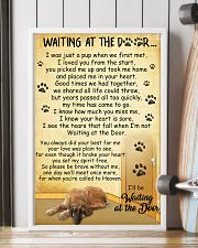 Afghan Hound Waiting at The Door 11x17 Poster lifestyle-poster-4