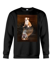 Bulldog Reflection Mug 1412 Crewneck Sweatshirt thumbnail