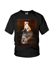 Bulldog Reflection Mug 1412 Youth T-Shirt thumbnail