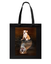 Bulldog Reflection Mug 1412 Tote Bag thumbnail