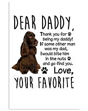 Field Spaniel Favorite 11x17 Poster front