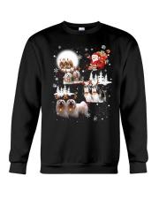 Lhasa Apso Reindeers 0310 Crewneck Sweatshirt front
