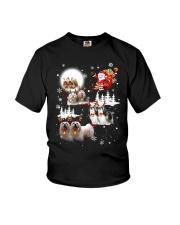 Lhasa Apso Reindeers 0310 Youth T-Shirt thumbnail