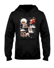 Lhasa Apso Reindeers 0310 Hooded Sweatshirt thumbnail