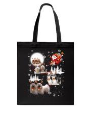 Lhasa Apso Reindeers 0310 Tote Bag thumbnail