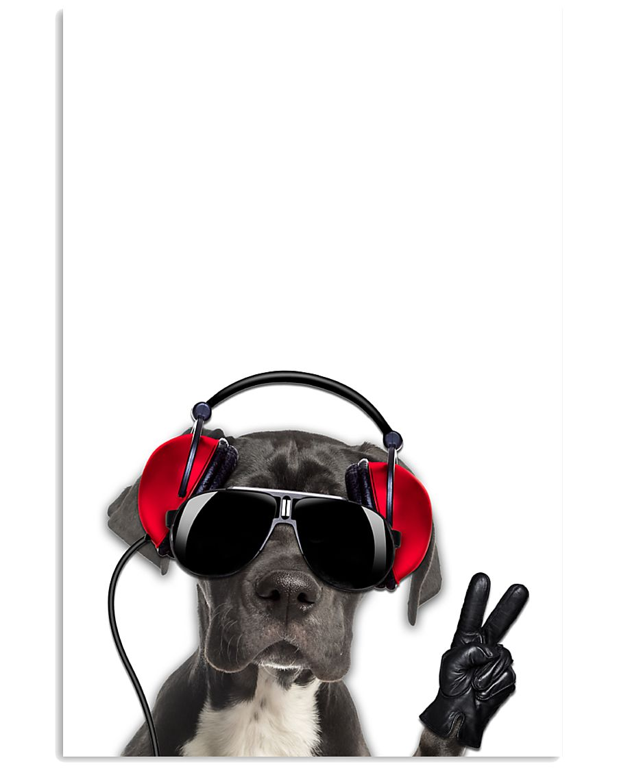 Great Dane Headphone 1812 11x17 Poster