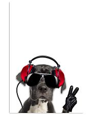 Great Dane Headphone 1812 11x17 Poster front