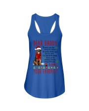 Rottweiler Daddy Christmas Ladies Flowy Tank thumbnail