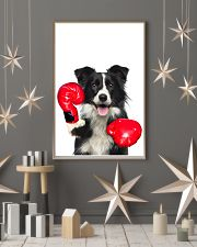 Border Collie Boxing Poster 1812  11x17 Poster lifestyle-holiday-poster-1