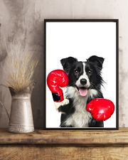 Border Collie Boxing Poster 1812  11x17 Poster lifestyle-poster-3