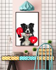 Border Collie Boxing Poster 1812  11x17 Poster lifestyle-poster-6