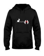 Dog Heart Angel Wings 130319 Hooded Sweatshirt thumbnail
