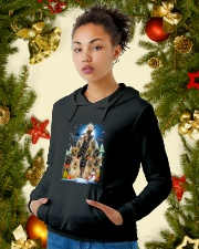 Cairn Terrier Pine - 1910 - A2 Hooded Sweatshirt lifestyle-holiday-hoodie-front-4