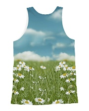 Golden Retriever Be The Flowers All-over Unisex Tank back