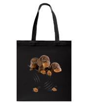 Dachshund Scratch Cute  Tote Bag thumbnail
