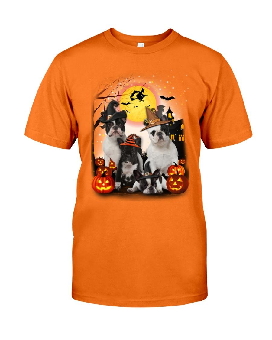 Zeus - French Bulldog Halloween - 2408 - A10 Classic T-Shirt