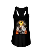 Zeus - French Bulldog Halloween - 2408 - A10 Ladies Flowy Tank thumbnail