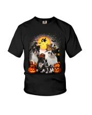 Zeus - French Bulldog Halloween - 2408 - A10 Youth T-Shirt thumbnail