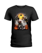 Zeus - French Bulldog Halloween - 2408 - A10 Ladies T-Shirt thumbnail